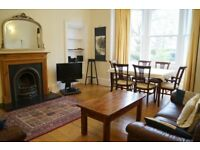 July special offer. Large, equipped family holiday let. Marchmont. Wifi. Cot, hi chair. Central