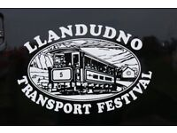 LLANDUDNO TRANSPORT FESTIVAL 5th 6th & 7th MAY 2018 BODAFON FIELDS LLANDUDNO SEAFRONT LL30 1BW