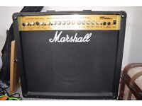 Marshall 100w Guitar Amplifier MG100DFX w/built in effects and footswitch