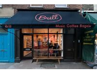 Barista/all-rounder for Coffee/CD shop EC1
