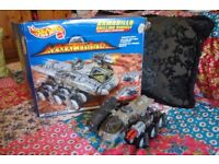 Vintage RARE Hot Wheels Mattel Armageddon Film 1997 Armadillo Drilling Vehicle