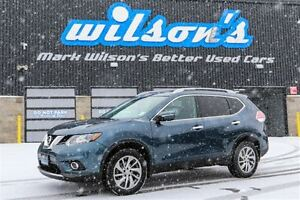 2014 Nissan Rogue SL AWD LEATHER! NEW BRAKES! NAVIGATION! 360 CA