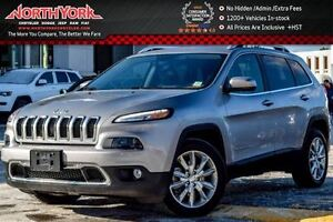2016 Jeep Cherokee Limited Nav|Leather|HTD Frnt Seats|R.Start|Ba