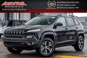 2017 Jeep Cherokee NEW Car Trailhawk|4x4|Cold Wthr/SafetyTec/Com