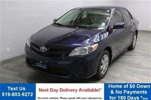 2013 Toyota Corolla CE 5-SPEED w/ HEATED SEATS! POWER PACKAGE! C