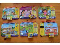 LeapFrog My first LeapPad books & cartridges
