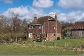 Four-bedroom cottage to rent in secluded, rural location in West Sussex near Haywards Heath