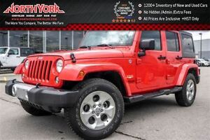 2015 Jeep WRANGLER UNLIMITED Sahara 4x4|Manual|CleanCarProof/1-O