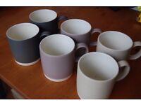6 John Lewis Croft Mugs