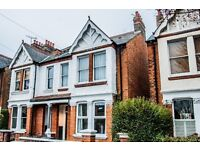Splendid & spacious two bedroom, ground floor, conversion garden flat in Julian Avenue, Acton W3 9JF