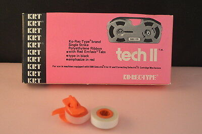 Krt Ko-rec-type Tech Ii Ibm Selectric Multi-release Typewriter Ribbon Pink Box