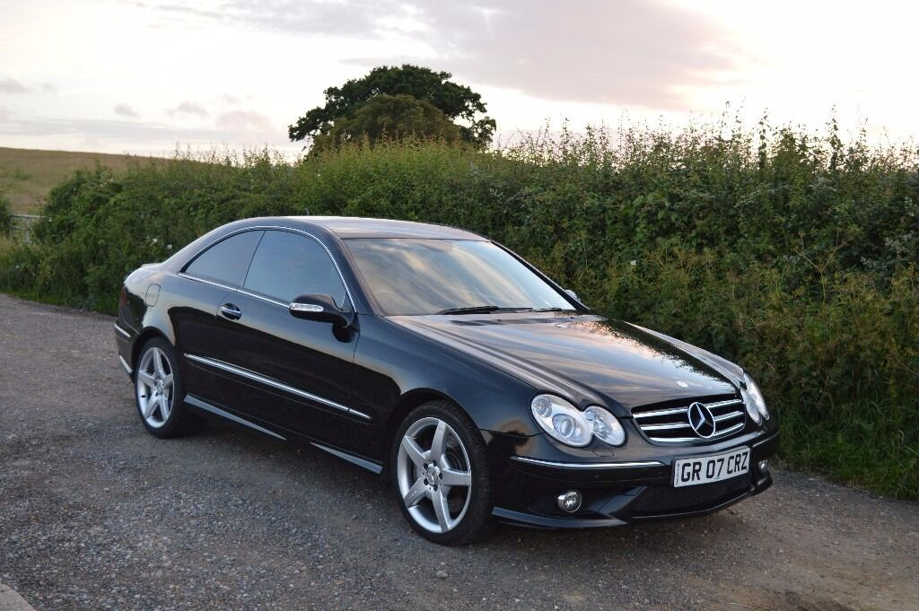 2007 mercedes clk 320 cdi sport auto 7 gtronic in grays. Black Bedroom Furniture Sets. Home Design Ideas