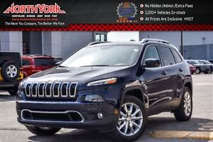 2016 Jeep Cherokee Limited 4x4|Pano_Sunroof|Nav|Leather|Backup C