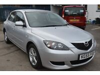 Mazda 3 2005 in excellent condition with MOT until September 2017 only £1295