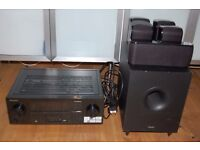 Tannoy TFX 5.1 Home Cinema Speaker System Pioneer VSX527K receiver