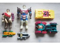 Vintage 80's 90's Transformers Toy Lot