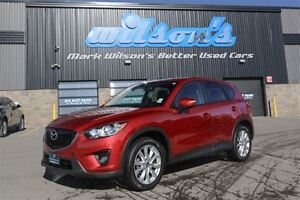 2015 Mazda CX-5 GT 4WD! LEATHER! SUNROOF! NAVIGATION! REVERSE CA