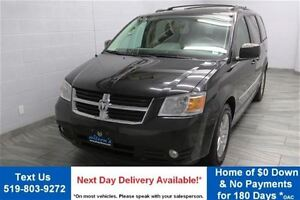 2010 Dodge Grand Caravan SXT PLUS w/ STOW & GO! DUAL DVD! LEATHE