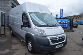2011 CITROEN RELAY XLWB 2.2 HDI FULL SERVICE HISTORY GREAT CONDITION PLY LINED YEARS MOT SPARE KEY