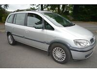 FOR SALE 2004 VAUXHALL ZAFIRA 2.0 DTI DIESEL 7 SEATER.MOT MARCH