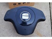 SEAT IBIZA 2002-2008 STEERING WHEEL AIRBAG (DRIVER SIDE) 6L0880201D GENUINE