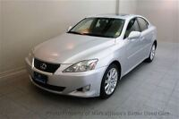 2008 Lexus IS 250 AWD V6 SEDAN! SUNROOF! HEATED LEATHER! ALLOYS!
