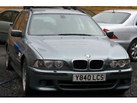 BMW 530D 2.9 Sport Touring Estate 5dr Diesel Automatic Green 2 KEYS