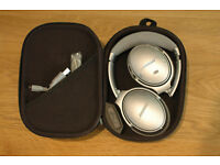 Bose QC35 Quiet Comfort Noise Canceling Wireless Headphones SILVER - Apple / Android / PC / Holidays