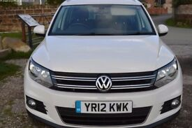 Volkswagen Tiguan 2.0 TDI BlueMotion Tech SE Station Wagon DSG 4WD 5dr - MOT until Nov '18