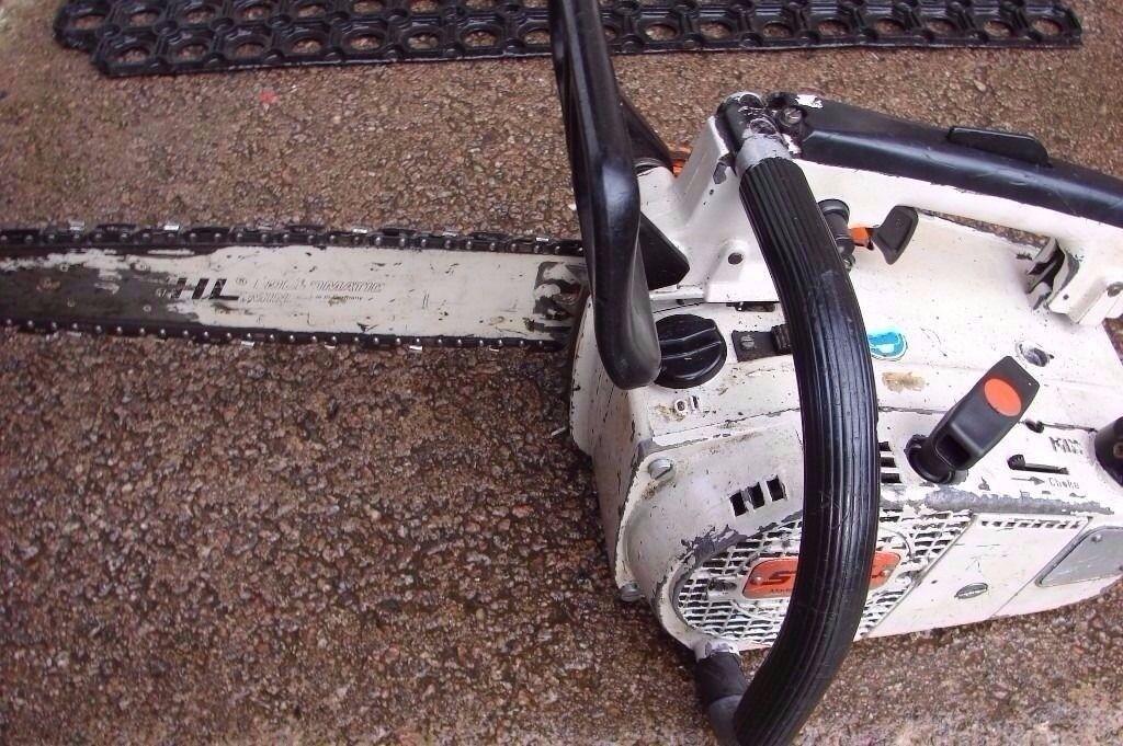 stihl 020 top handled chainsaw