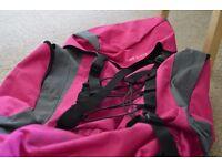 65L Womens Pink Travel Rucksack