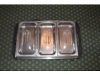 Heated Containers x 3 , Buffet Warming Containers