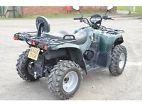 2016 500cc 4x4 KAZUMA JAGUAR ROAD LEGAL QUAD BIKE 66 PLATE FULLY AUTOMATIC SHAFT DRIVE WITH REVERSE