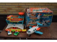 Fisher Price Vintage 2970's Airport