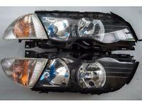 BMW E46 pre-facelift Headlights