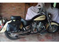 YAMAHA ROYAL STAR XVZ1300 TOURER 2000 V REG LOW MILEAGE/NEW BATTERY/LONG MOT