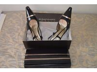 Ladies Roland Cartier Shoes and Evening Bag. Little worn size 39
