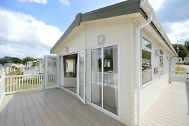 *LAST ONE REMAINING* CALL DANIEL TO VIEW THE STUNNING STATIC LODGE IN DAWLISH. NEAR DEVON & EXETER