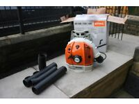 Stihl br600 backpack blower Excellent condition