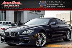 2014 BMW 6 Series 650i|xDrive|MSport|Sunroof|Nav.|NightVision|Ba