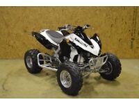 Kawasaki KFX 450R SE 08 Road Legal Quad 1 Owner Low Use Race Spec... - Raptor
