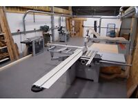 SHARED BENCH SPACE IN WORKSHOP - furniture making workshop