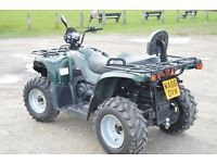 2016 500cc 4x4 JAGUAR ROAD LEGAL FARM QUAD BIKE 66 PLATE FULLY LOADED AUTOMATIC WINCH / TOW BAR