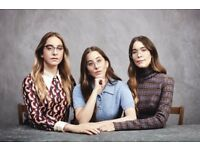 Haim tickets x2 Friday 15th June london