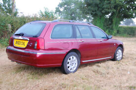 Rover 75 CDT, 2002, 107,000 miles, one previous owner