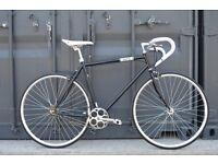 Brand new single speed fixed gear fixie bike/ road bike/ bicycles + 1year warranty & free service 7r