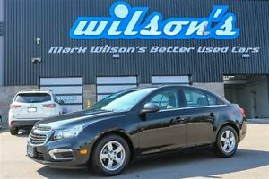 2015 Chevrolet Cruze 2LT LEATHER! SUNROOF! HEATED SEATS! REAR CA