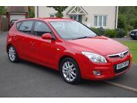 Hyundai i30 1.4 style 77,000 miles Red