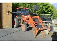Kubota L3250 4x4 with front loader.