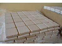 6.51m2 -70sheets- Travertine limestone mosaic tiles